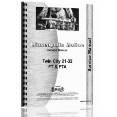 Minneapolis Moline 21-32 Twin City Tractor Service Manual