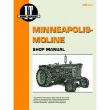 Minneapolis Moline Jet Star 3 Tractor Service Manual (IT Shop)