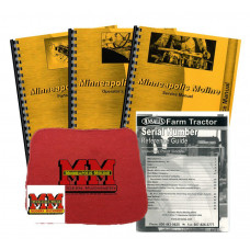 Minneapolis Moline G900 Deluxe Tractor Manual Kit