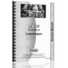 M And W Turbocharger Service Manual
