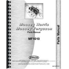 Massey Ferguson 1010 Tractor Parts Manual