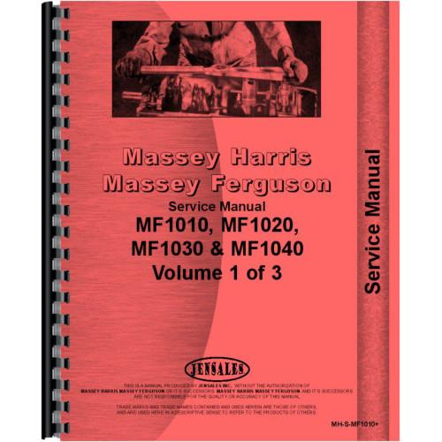 Mey Ferguson 1010 Tractor Service Manual on