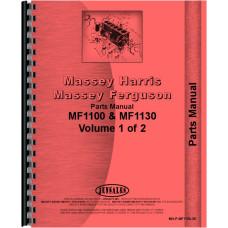 Massey Ferguson 1100 Tractor Parts Manual