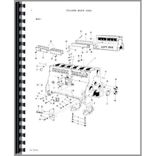 Massey Ferguson 1130 Tractor Parts Manual