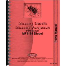 Massey Ferguson 1155 Tractor Parts Manual