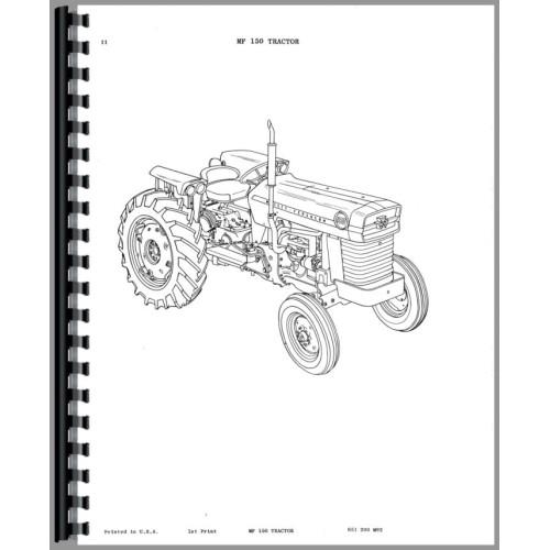 massey ferguson 150 tractor parts manual rh jensales com Massey Ferguson Online Manuals Massey Ferguson Online Manuals