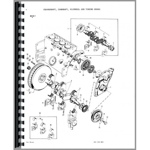 Details about  /Parts Manual Massey Ferguson 150 Tractor