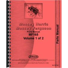 Massey Ferguson 165 Tractor Parts Manual