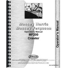 Massey Ferguson 200 Crawler Operators Manual