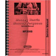 Massey Ferguson 200 Crawler Service Manual