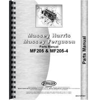 Massey Ferguson 205 Tractor Parts Manual (Diesel)