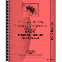 Massey Ferguson 2200 Industrial Tractor Parts Manual
