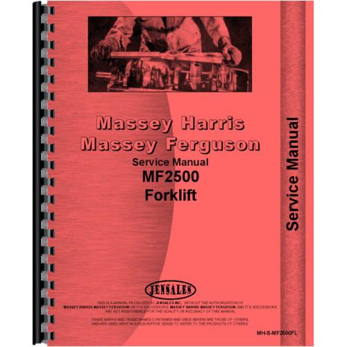 Massey Ferguson 2500 Forklift Service Manual