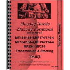 Massey Ferguson Tractor Service Manual (MH-S-MF154+)
