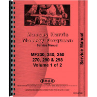 Massey Ferguson 283 Tractor Service Manual (Up to 1986)
