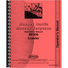 Massey Ferguson 300 Crawler Operators Manual