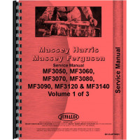 Massey Ferguson 3060 Tractor Service Manual (Chassis)