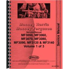 Massey Ferguson Tractor Service Manual (MH-S-MF3050+)