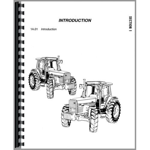 massey ferguson 3070 tractor service manual chassis rh jensales com