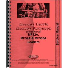 Massey Ferguson 34A Loader Attachment Service Manual