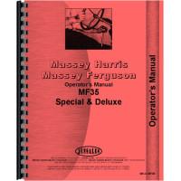 Massey Ferguson 35 Tractor Operators Manual