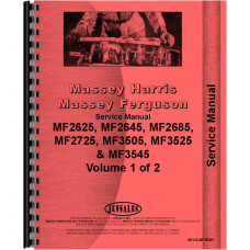 Massey Ferguson Tractor Service Manual (MH-S-MF2625+)