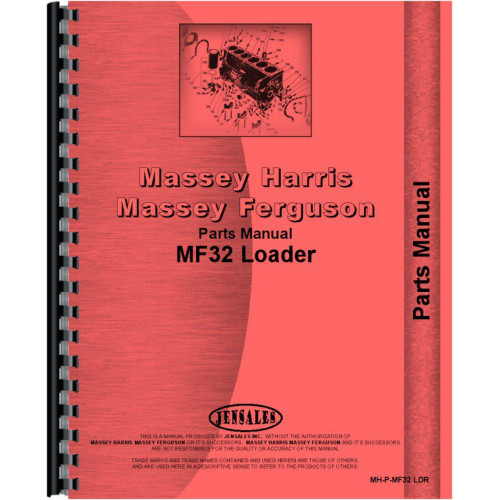 Massey Ferguson 2135 Loader Attachment Parts Manual