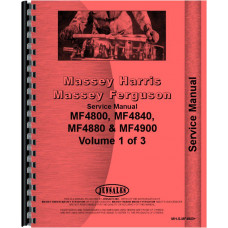 Massey Ferguson 4800 Tractor Service Manual (Chassis)