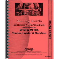 Massey Ferguson Tractor & Industrial Service Manual (MH-S-MF50+)