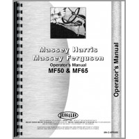 Massey Ferguson 65 Tractor Operators Manual (LP Only)