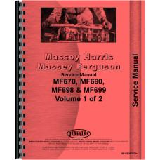 Massey Ferguson Tractor Service Manual (MH-S-MF670+)