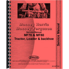 Massey Ferguson Industrial Tractor Service Manual (MH-S-MF70,80)