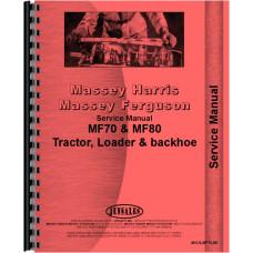 Massey Ferguson 80 Industrial Tractor Service Manual