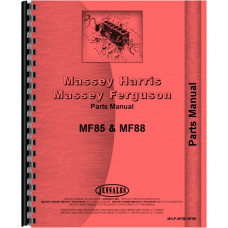Massey Ferguson 85 Tractor Parts Manual