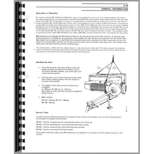 john deere 500 round baler technical service repair shop manual tm 1140 original