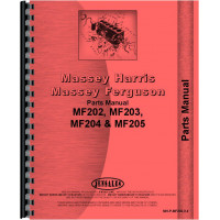 Massey Ferguson 205 Industrial Tractor Parts Manual (Industrial and Utility)