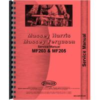 Massey Ferguson 205 Industrial Tractor Service Manual