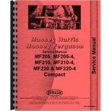 Massey Ferguson Tractor Service Manual (MH-S-MF205+)