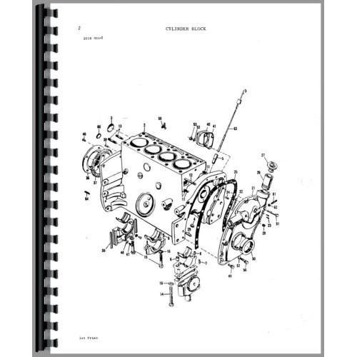 Massey Ferguson 245 Parts Diagram