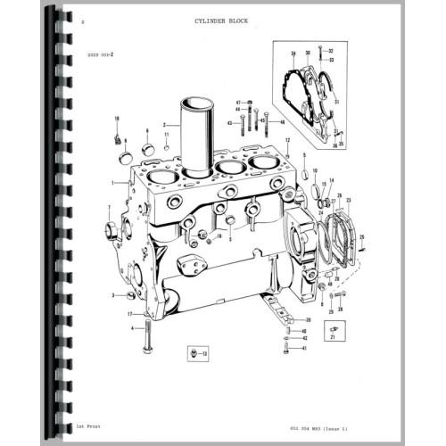 ferguson tractor starter diagram
