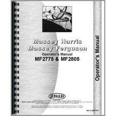 Massey Ferguson 2805 Tractor Operators Manual
