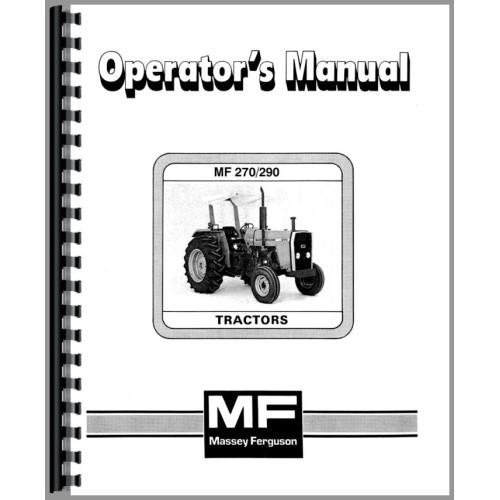 Massey ferguson 290 tractor operators manual fandeluxe Gallery