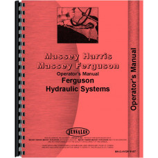 Massey Ferguson 165 Hydraulic System Operators Manual