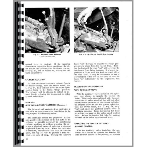 Massey ferguson mf 255, mf 265, mf 275 tractor manual.