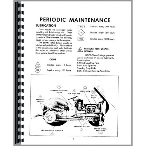 Ferguson TEA20 Tractor Operators Manual (SN# 172501 and Up) (172501+)
