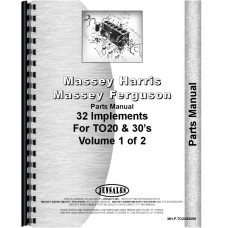 Ferguson TO20 Tractor Parts Manual (Implements)