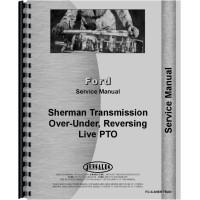 Ferguson TO20 Sherman Transmission Service Manual (Transmission & Live PTO Kit)
