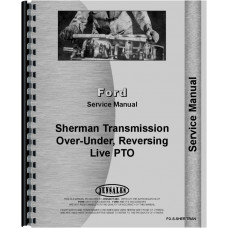 Ford 8N Sherman Transmission Service Manual (Various Transmissions)