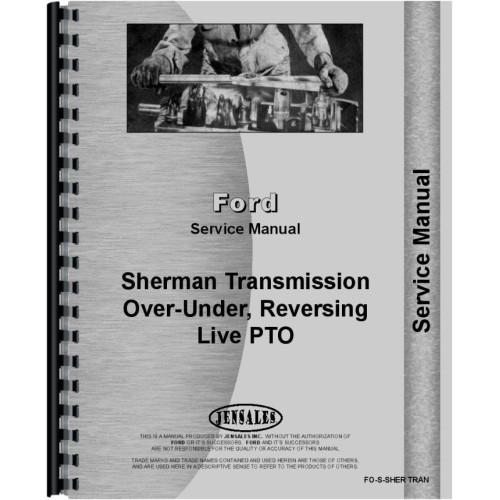 Ferguson TE20 Sherman Transmission Service Manual (Transmission & Live PTO  Kit)