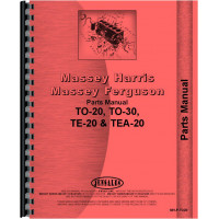 Ferguson TO20 Tractor Parts Manual (1948-1951)
